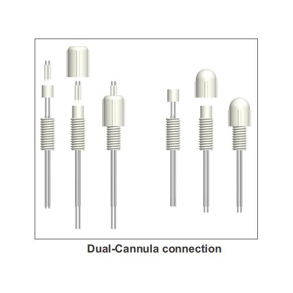 double-cannula