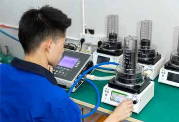 Ventilator testing
